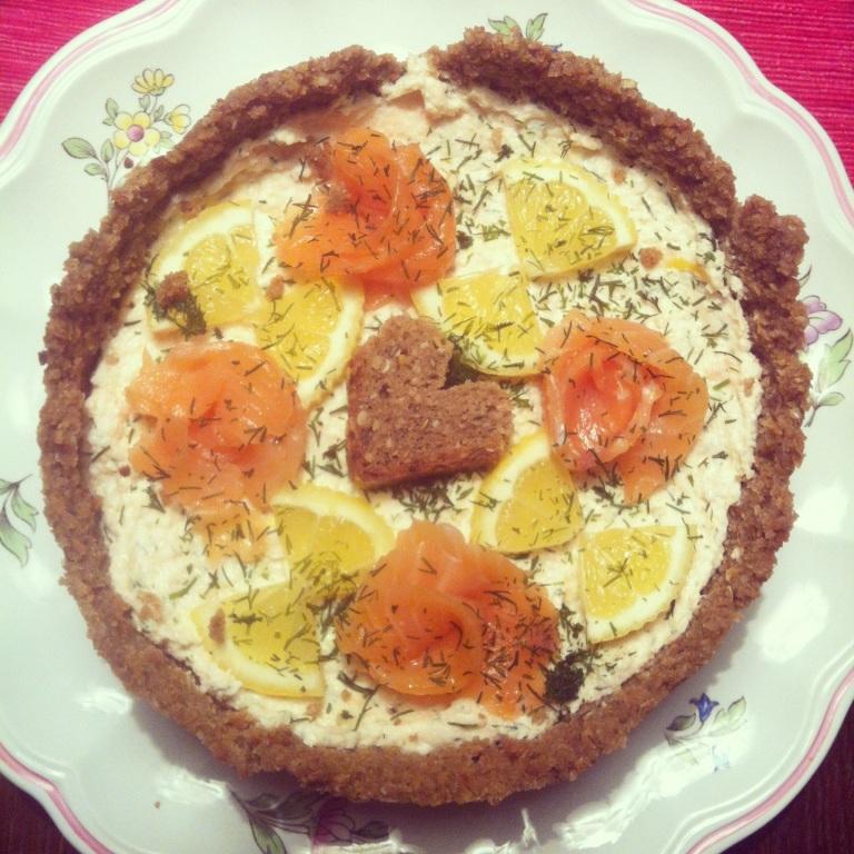 torta de salmao