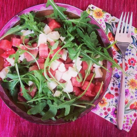 melancia salad