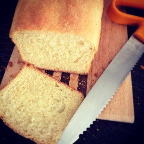 pão semolina loaf